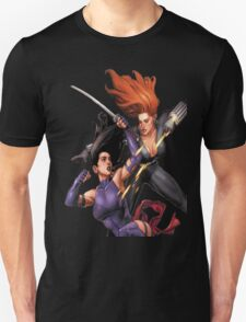 Psylocke vs. Black Widow T-Shirt