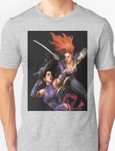 Psylocke vs. Black Widow T-Shirt