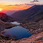 Columbine Sunset #2 by Benjamin Curtis