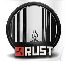 Rust pin Poster