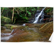 Somersby Falls, N.S.W Central Coast Poster