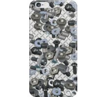 NUTS AND BOLTS iPhone Case/Skin