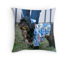 Hawaiian Boy Throw Pillow