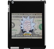 Rick dollar bill iPad Case/Skin