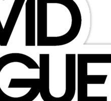 DJ David Guetta Official Logo Products Sticker