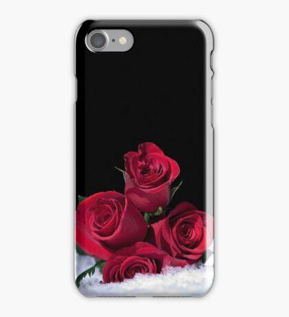 Snow Roses iPhone Case/Skin