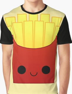 kawaii french fries Graphic T-Shirt