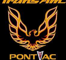 Pontiac Firebird Trans Am Muscle Car by GiArtwork