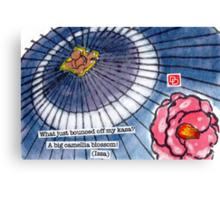 Bouncing Camellia Canvas Print