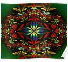 Flower Weave Poster