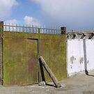 A firmly closed gate in Karakul by Marjolein Katsma