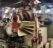 MACHINERY GRAVE YARD CHATHAM DOCKYARDS MUSEUM by Shoshonan