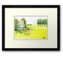 RAPE SEED Framed Print