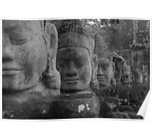 The Guards of Angkor Gate Poster