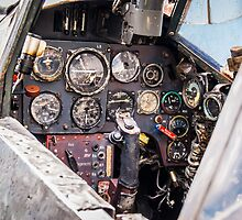 Messerschmitt cockpit by TrueLoveOne