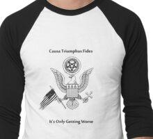 Reason Triumphs Faith Men's Baseball ¾ T-Shirt