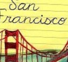 I wanna get back to San Fran Sticker