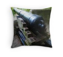 Defend the Fort Throw Pillow