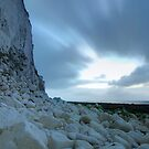 Dawn at the White Cliffs of Dover by Ian Middleton