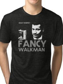 Jimmy Whisper's Fancy Walkman Tri-blend T-Shirt