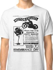 Motor-Cyclists Classic T-Shirt