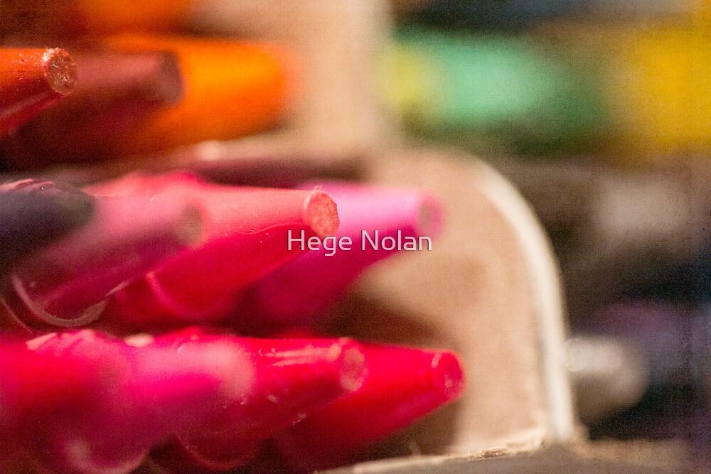 Day 11 - Tiny Tuesday - Crayola delight by Hege Nolan