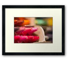 Day 11 - Tiny Tuesday - Crayola delight Framed Print