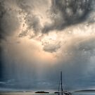 Storm over Portland Island by toby snelgrove  IPA
