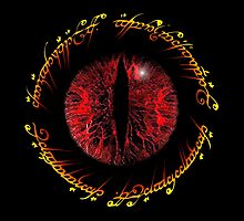 Another Eye in Elvish Lettering by TJDraws