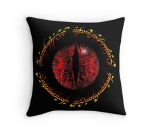 Another Eye in Elvish Lettering Throw Pillow