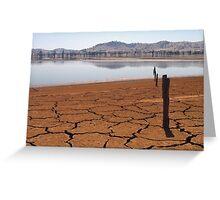 Lake Hume at 4% Greeting Card