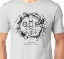Circle of Black Evocations and Demonic pacts Unisex T-Shirt