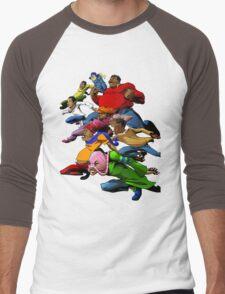 Fat Albert and the Gang Ready for battle Men's Baseball ¾ T-Shirt