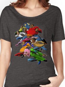 Fat Albert and the Gang Ready for battle Women's Relaxed Fit T-Shirt