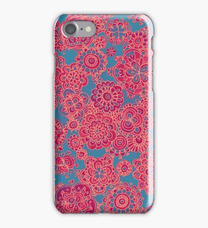 Flower Doodle iPhone case iPhone Case/Skin
