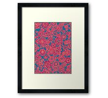 Flower Doodle iPhone case Framed Print