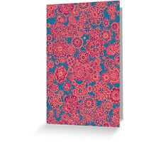 Flower Doodle iPhone case Greeting Card