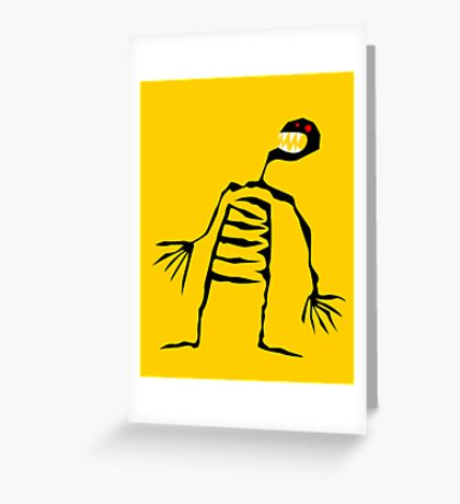 Starvation  Greeting Card