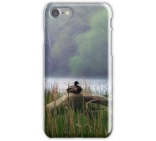 Alone in the Pond  iPhone Case/Skin
