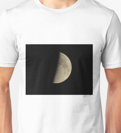 Half-moon In The Night Sky Unisex T-Shirt