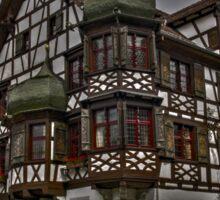 Drachenburg Card - Castle Poster Switzerland Photo Sticker