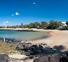 Kelly Beach Scene - Bargara - Queensland - Australia by Anthony Wilson