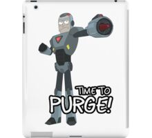 Rick and Morty – Time to Purge! iPad Case/Skin