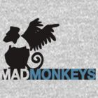 Mad Monkeys by OneShoeOff