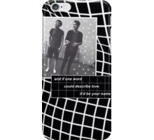 Dan Howell/danisnotonfire & Phil Lester/AmazingPhil iPhone Case/Skin