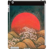 AMATERASU SUN GODDESS Red Black Brown iPad Case/Skin