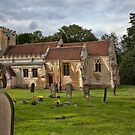 The Church of St. Michael and All Angels, Brodsworth, South Yorkshire, England by Ray Clarke