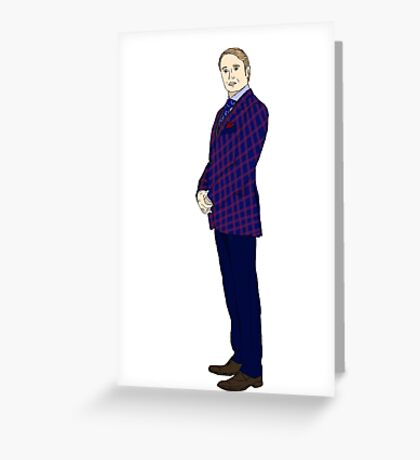 Hannibal Lecter Season 1 Greeting Card