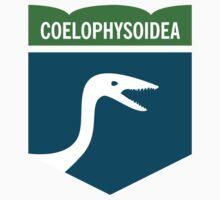 Dinosaur Family Crest: Coelophysoidea by David Orr