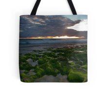 Seaweed Craters Tote Bag